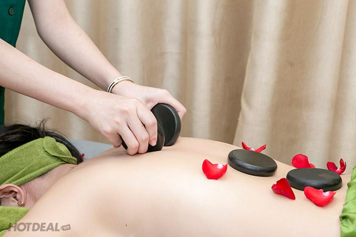 Massage trị liệu bằng đá nóng